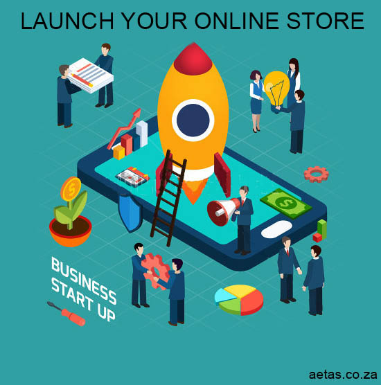 Launch your online store with Aetas