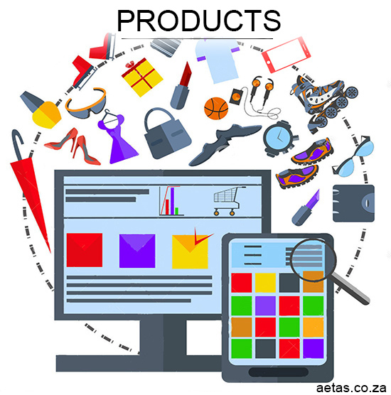 You choose what products to sell in your Online store- Aetas
